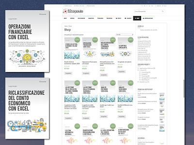 E-book and software e-shop business models excel e-book shop e-commerce