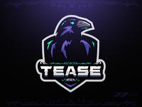 Tease - Huginn Raven Mascot Logo