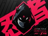 Ninja / Kitsune Mascot Logo