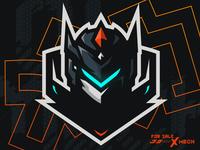 MECH 01 Mascot Logo