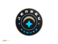 Jersey Rogues Badge