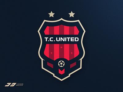 Soccer / Football Team Badge soccer design illustration badge emblem identity brand sports logo