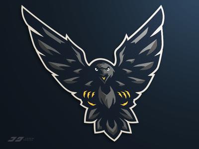 Raven Mascot Logo for Sale
