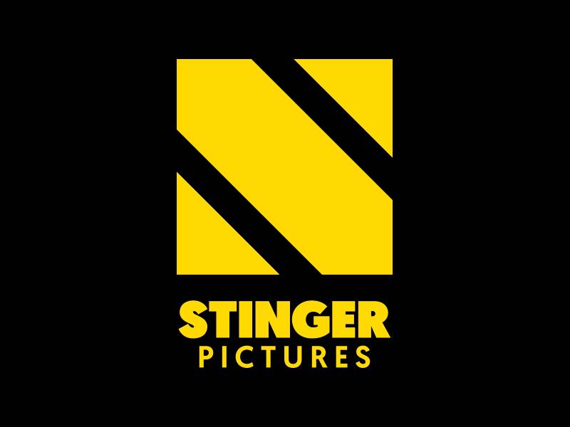 Stinger Pictures Logo design graphic design graphic yellow stinger stinger pictures logo