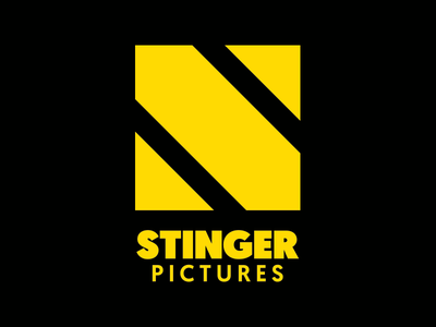 Stinger Pictures Logo design graphic design graphic yellow stinger stinger pictures logo