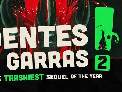 Classic Dentes e Garras 2! Poster cinema movie graphic design graphic design poster