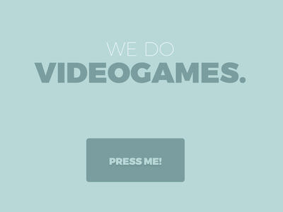 WE DO VIDEOGAMES. videogames games web web design user interface ui
