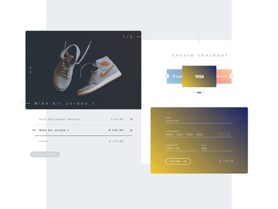 Daily UI - 002 - Credit card checkout