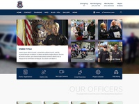 Police Department Website