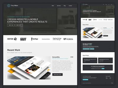 New Freelance Portfolio Webste