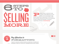 6 steps to selling more