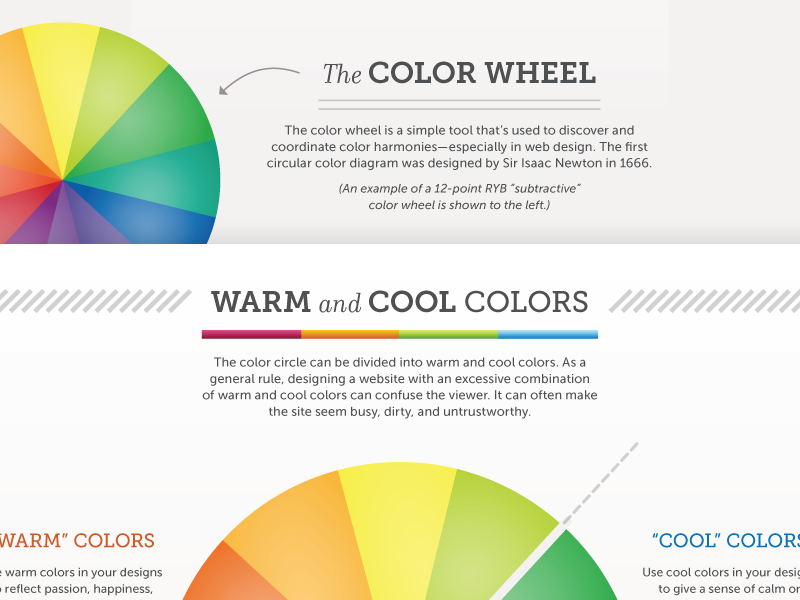 The art of color coordination infographic by jason for Color coordinated apps