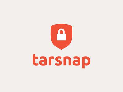 Tarsnap logo concept logo mark protection simple minimal mark logo design icon security lock logo icons branding