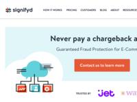 Signifyd Homepage Refresh