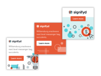 Display ads for Signifyd