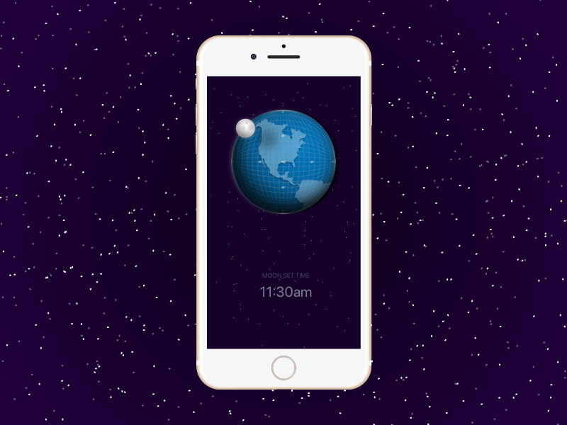 Lune - Moon Finder ios app calculator space moon lune