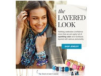 the Layered Look - Jewelry Feature Email