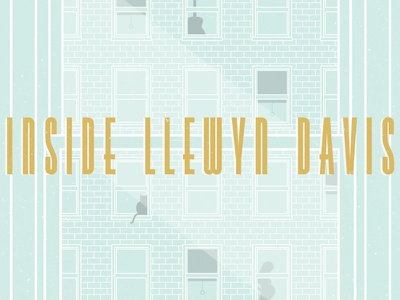 Remake 2015 Poster - Inside Llewyn Davis coen brothers inside llewyn davis movie poster cat building window poster music movie coen remake