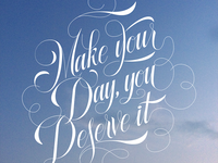 Make your day You deserve it