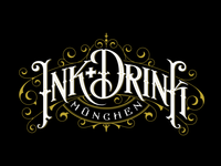 Ink+Drink tshirt logo