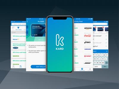Kard Mobile App ux fin-tech ios ui mobile app