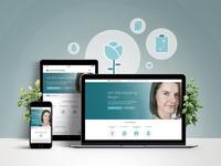 Grove Circle Healing - Website Design graphic design web design responsive