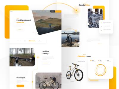 Landing Page - Bike Manufacturing Company 🚲