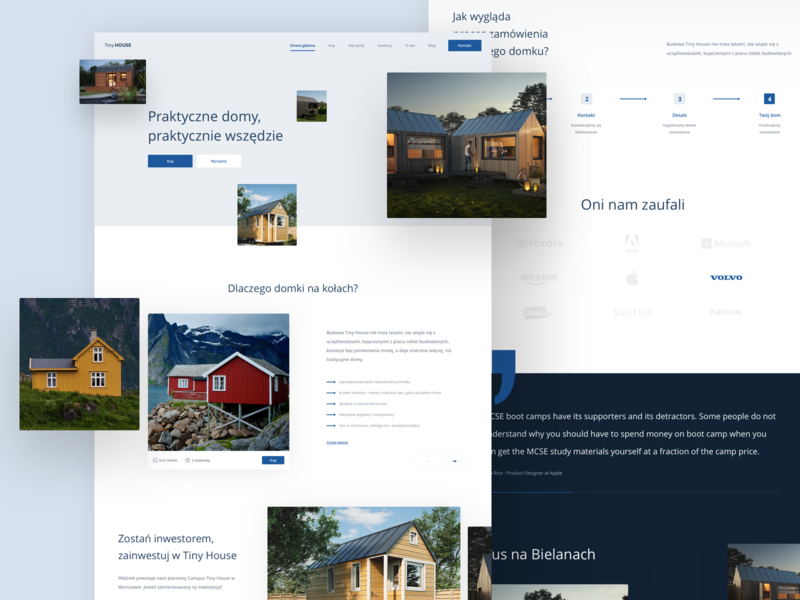 Tiny House - Product Page 🚙🏠