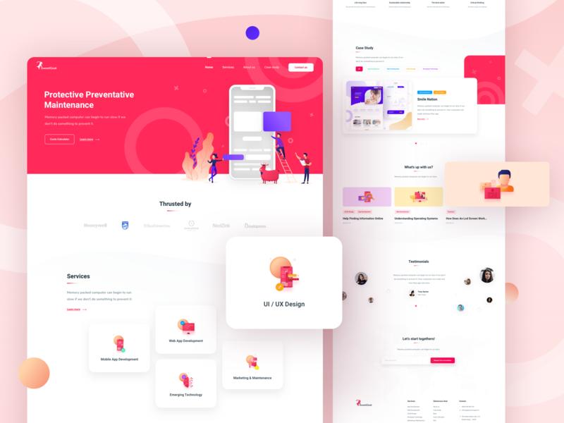 Dutch Digital Agency - Landing Page  🖥🖌