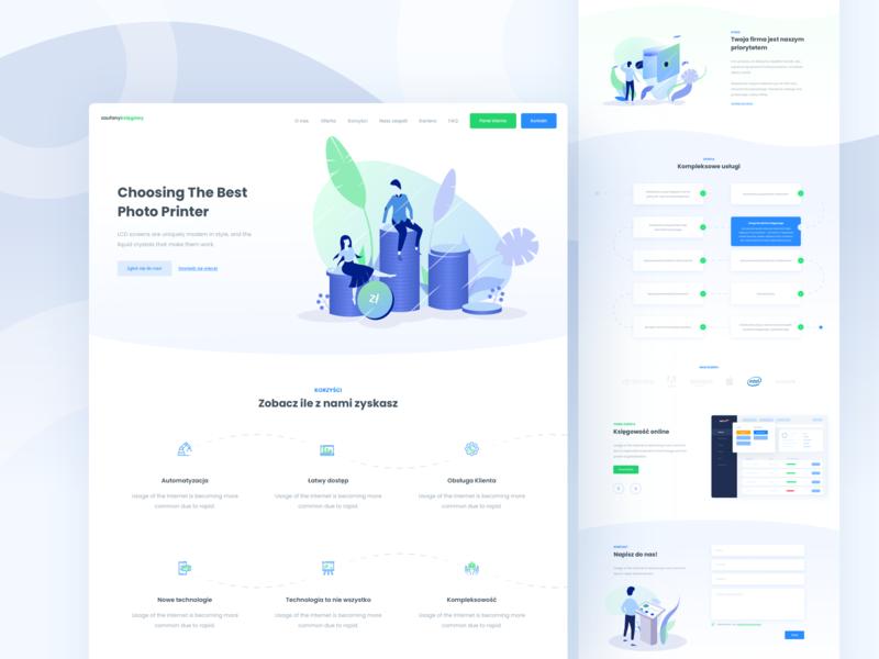 Landing Page - Accountancy Company 💰💸