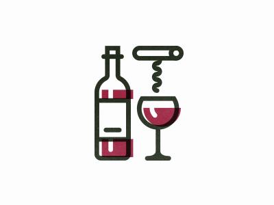 Wine icon wine