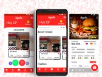 "Concpeto para la app ""Degusta"""