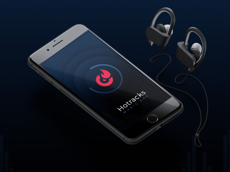 The work of shadows shadows gradients music app