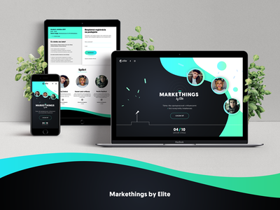 Markethings website slovakia bratislava ui event microsite web design webdesign web marketing markethings