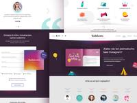 Instaheroes - campaign website