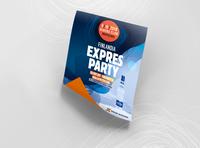Key visual for Finlandia & Radio Expres party