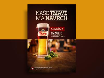 Cut beer print - Topvar Marina