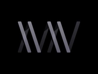 Xvxv 2x play logo branding
