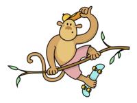 Monkey see, monkey skate