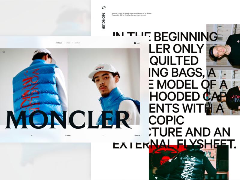 Fashion Concept - Moncler