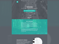 Fatsoma Homepage Concept