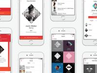 Sling - Music Sharing App