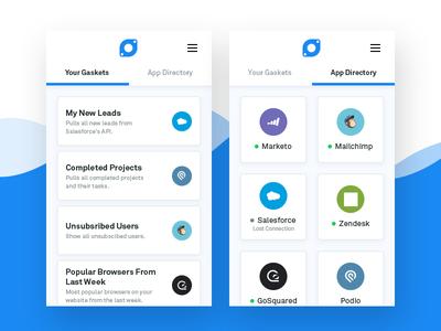Gasket - Google Sheets Add-on web ux ui wave spreadsheet app data bot addon sheets extension