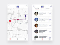 DC Trails - Tour Bus App