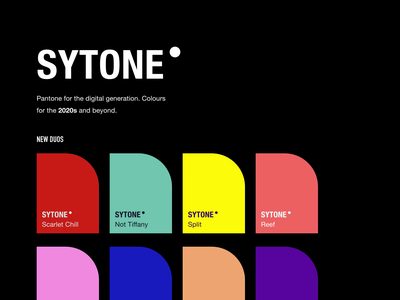 Sytone - Forthcoming Side Project productivity web simple typography creative freelance product ux ui design minimal branding syke dark animation side project free palettes colour color