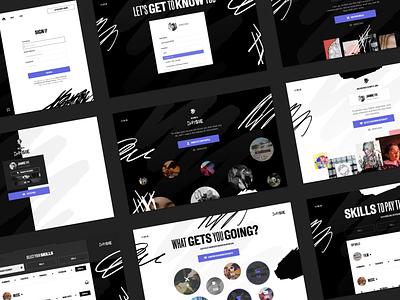 Daisie - Desktop Onboarding product ui web design