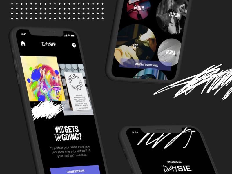 Daisie - iOS Onboarding