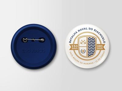 Navy botton aniversary navy logo