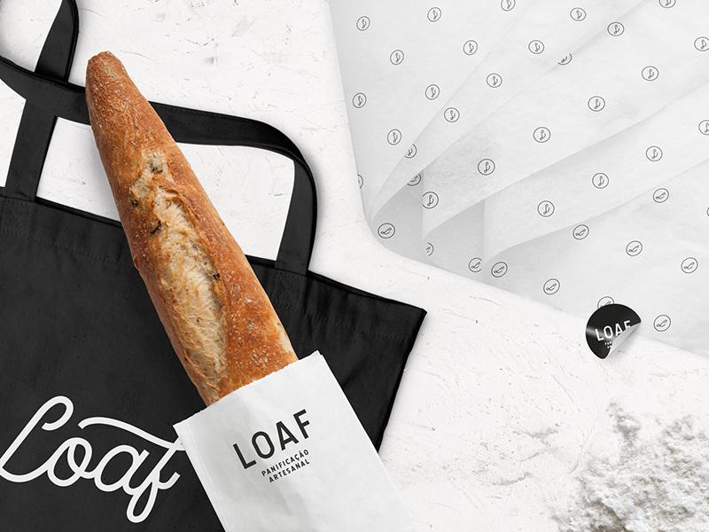 Loaf brazil packaging logo branding brand graphic design identity artisan food loaf bread bakery