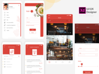 Food Places Search - Ui Design